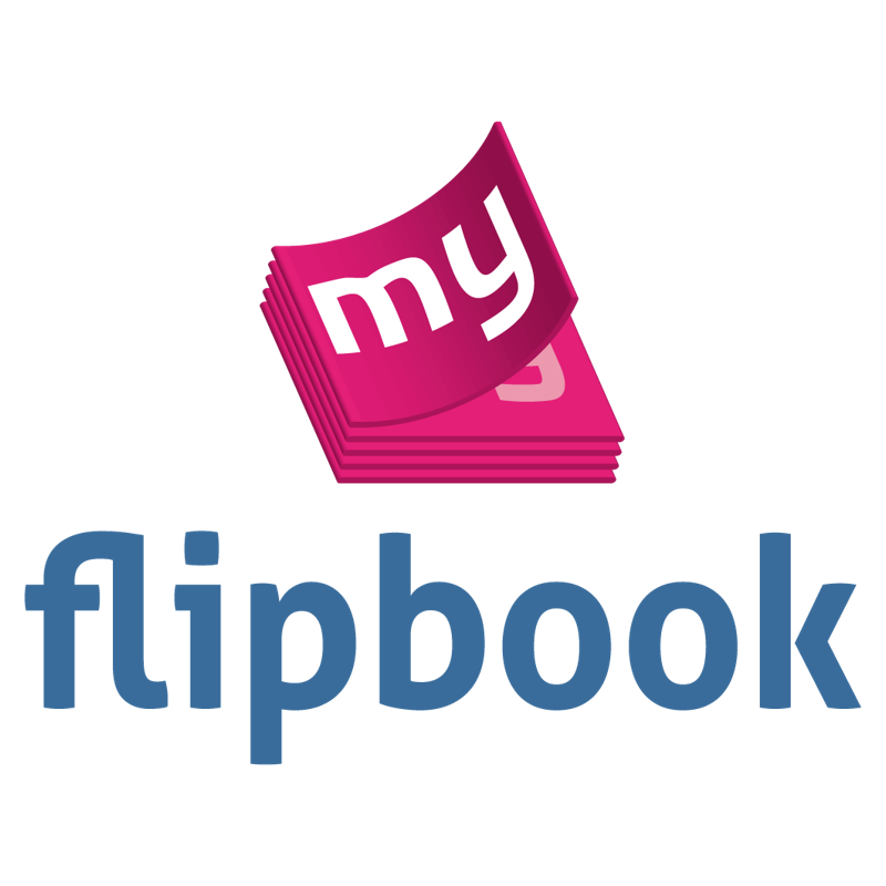 Logo flipbook vertical