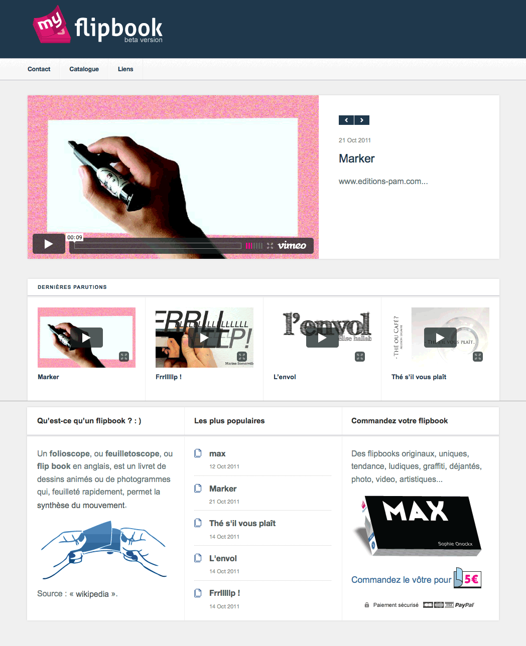 site flipbook wordpress